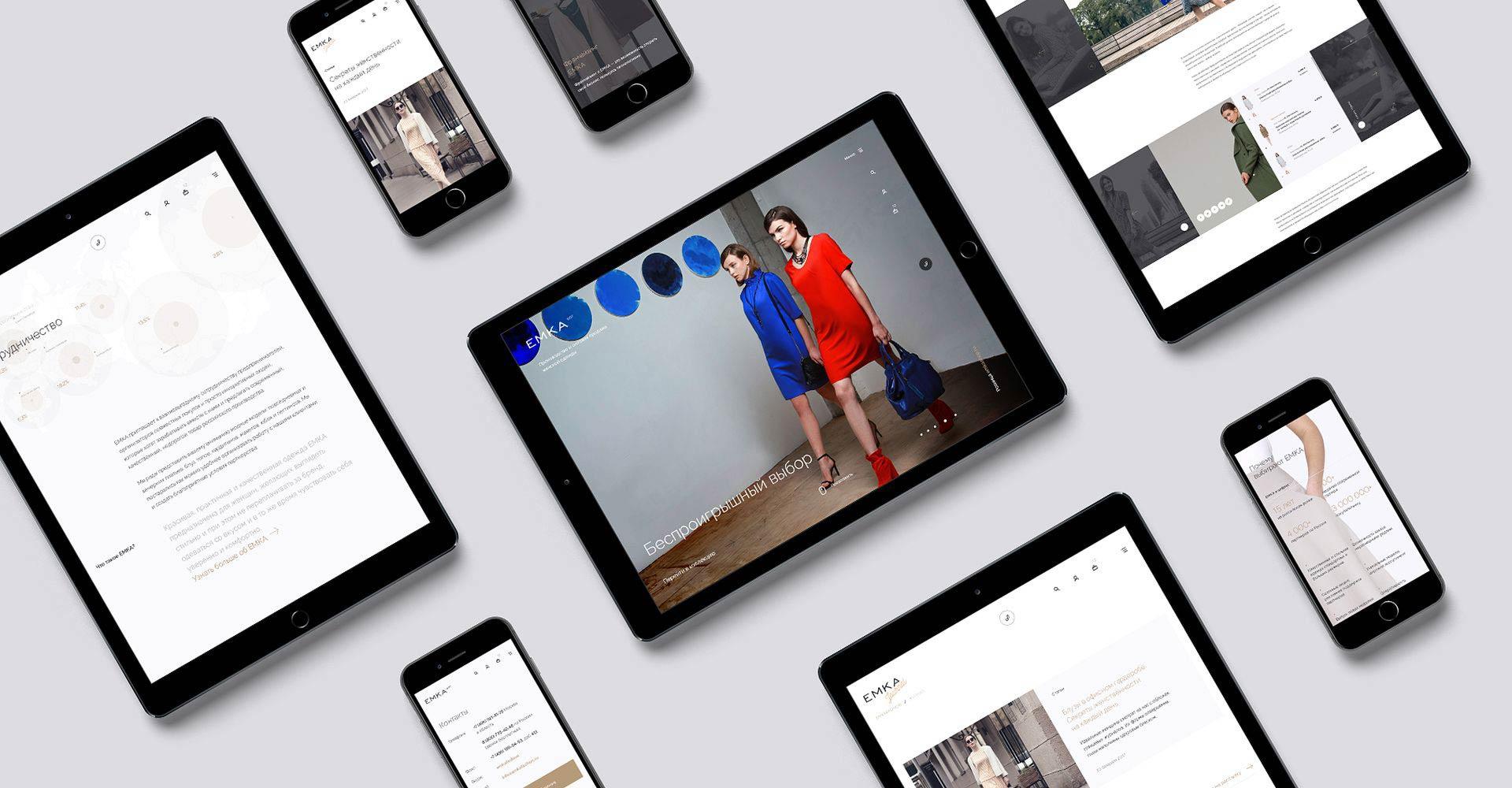 Оптовый интернет-магазин женской одежды Emka emkafashion.ru